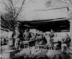 Buena Vista Vineyard, Sonoma, CA, in the early was captioned Champagne Corking. Modern History, Us History, American History, Old West, Buena Vista Winery, Champagne Images, Eadweard Muybridge, Lewis Hine, Time Pictures