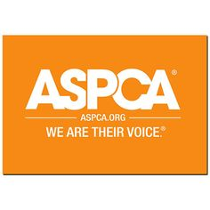 ASPCA.ORG Logo Magnet                             This ASPCA.org logo magnet makes the perfect addition to any animal lover's  fridge collection.