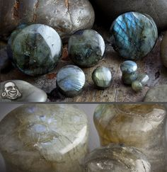 Double flare labradorite plugs. Stone of transformation and change. Best stone to use for breaking unhealthy habits.