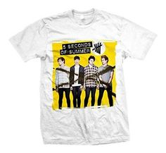 5SOS fans will love this 5 Seconds of Summer Album T-shirt! #5SOS