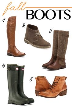 Favorite Fall Boots