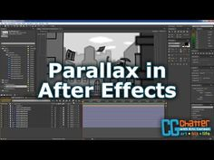 Landscape Game Parallax Effect Tutorial for After Effects CC - YouTube
