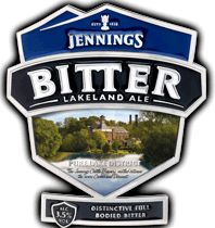 Jennings Bitter - I remember sampling this years ago after a friend told me about it just before I went on holiday to the Lake District - and I bought a bottle yesterday just to remind myself!