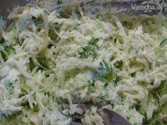 Šalát z mladej kapustičky s uhorkou Cabbage, Grains, Salads, Rice, Vegetables, Food, Fine Dining, Essen, Cabbages