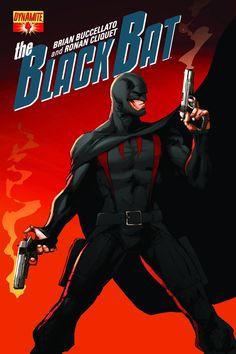 Black Bat #4 - Joe Benitez (Art Variant) Cover