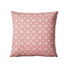 Lattice Pillow Cover – Coral #serenaandlily 20x20 too pink?