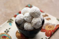 Mexican Wedding Cookies, Russian Tea Cakes, Sugar Butter Balls, Polvorones, Snowball Cookies, Egyptian Feast Cookies, Kourambie, these melt-in-your-mouth cookies are known by many different names around the world.