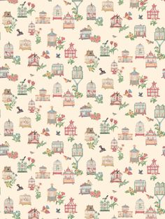 Thibaut's+Birdcage+is+taken+from+the+Classic+Thibaut+wallpaper+collection+and+is+in+stock+and+available+for+purchase.