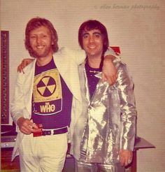 Harry Nilsson and Keith Moon.