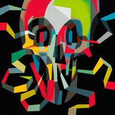Tim Biskup - Doom Loop #7 #timbiskup #jonathanlevinegallery