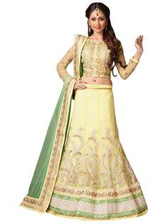 Viva N Diva Women Yellow Lehanga - Buy Viva N Diva Women Yellow Lehanga Online at Best Prices in India at Alagrand.com