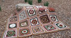 Ravelry: Julie Yeager Afghan Square CAL 2015