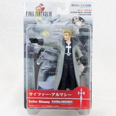 Final Fantasy VIII 8 Zell Dincht Extra Soldier Super Real Figure Collection