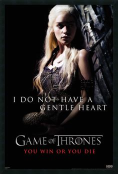 Game of Thrones : Gentle Heart (Daenerys) Framed Photographic Print