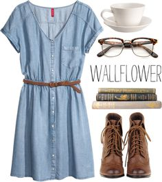 """Wallflower"" by jocelynjasso2005 on Polyvore"