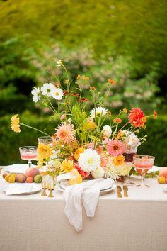 Autumn Bride, Autumn Wedding, Elegant Wedding, Floral Wedding, Floral Centerpieces, Floral Arrangements, Wotton House, Wedding Table Settings, Real Flowers