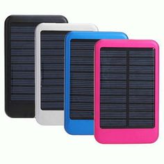 This portable, safe and reliable solar charger comes in multiple bright colors and is a lifesaver for those on the go. With a long lifespan and an advanced intelligent protection chip, you'll never have to worry about running out of battery life or staying connected. So go ahead, grab this eco-friendly charger and spend the day outside!