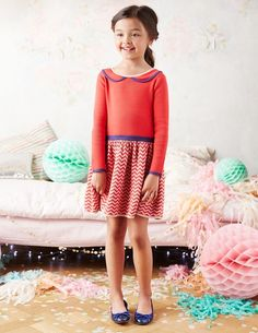 Look at that neckline! Love this piece from Mini Boden Winter 2014.