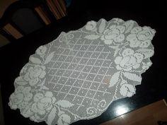 Home Decor Crochet Patterns Part 72 - Beautiful Crochet Patterns and Knitting Patterns Crochet Doily Rug, Crochet Doily Patterns, Crochet Tablecloth, Crochet Books, Crochet Art, Crochet Home, Thread Crochet, Crochet Designs, Knitting Patterns
