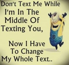 humor inappropriate For all Minions fans this is your lucky day, we have collected some latest fresh insanely hilarious 100 Collection of Minions memes and Funny picturess Funny Minion Pictures, Funny Minion Memes, Minions Quotes, Memes Humor, Funny Relatable Memes, Funny Texts, Funny Jokes, Minions Fans, Epic Texts
