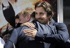 Excuse my while I go cry my heart out... Christian Bale and Chris Nolan. (Batman)