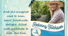Becky's Bookshelves: Restoring Fairhaven by Carolyn Miller Georgette Heyer, Happy Again, Hope For The Future, Romance Authors, Fictional World, English Literature, Love Reading, Bookshelves, Love Her