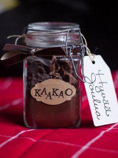 Pumpkin Jam: 10. diy joululahja: kaakao purkissa Easy Handmade Gifts, Diy Gifts, Pumpkin Jam, Christmas Crafts, Xmas, Holidays And Events, Food, Gift Ideas, Sun