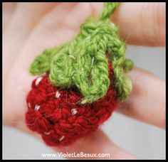 No Knit Yarn Strawberry