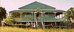 My Porch, please.somewhere in Queensland, Australia Queenslander House, Australian Homes, Country Living, Light Colors, Homesteading, Castle, House Design, Cabin, Architecture