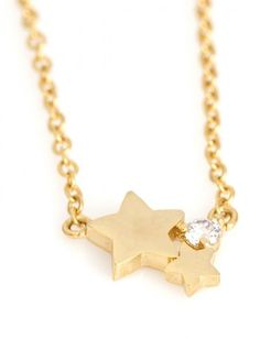 Stars necklace,tiny delicate necklace