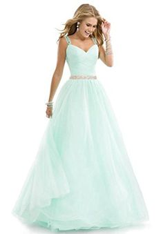 Aurora Bridal A Line Chiffon Straps Beading Bridesmaid Dresses 2016 Mint, 12 Aurora Bridal http://www.amazon.com/dp/B01C72ZSK0/ref=cm_sw_r_pi_dp_DsMfxb1MJ3NSC