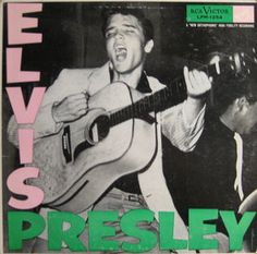 Elvis Presley - Elvis Presley - album cover His first album on RCA