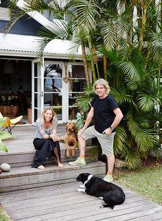 Sydney Northern Beaches Home · Mark and Louella Tuckey and Family / via The Design Files Daily Surf Shack, Beach Shack, Coastal Homes, Coastal Decor, Coastal Bedrooms, Beach Homes, Style Surf, Navy Houses, Surf House