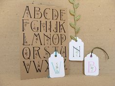 alphabet no.3   unmounted alphabet rubber stamp by pictureshow on Etsy https://www.etsy.com/listing/85499377/alphabet-no3-unmounted-alphabet-rubber