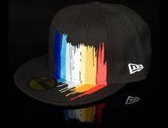 6add5aacd955cf Pretty artsy King Apparels 'Defy Edition' New Era fitted cap. MORBID FIBER  · Street Fashion