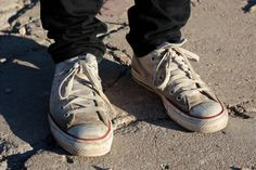 how to clean your dirty white converse