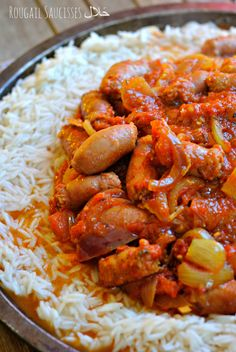 Rougail Saucisses حَلال (la Réunion dans ton assiette) – The Heart In The Stomach Top Recipes, Healthy Recipes, Lamb Sauce, Fish And Meat, Best Dishes, Food Hacks, I Foods, Chicken Wings, Entrees