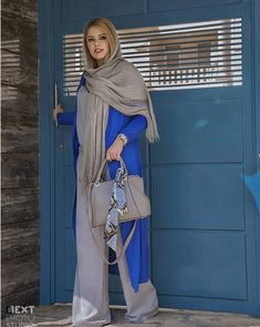 Street Hijab Fashion, Abaya Fashion, Fashion Dresses, Classy Outfits, Chic Outfits, Beautiful Outfits, Mod Fashion, Girl Fashion, Stylish Hijab