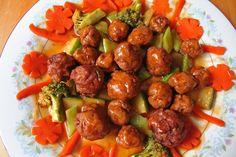 Spicy CocktailBarbecue Meatballs | Recipe International