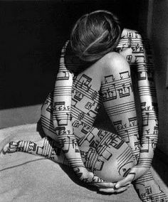 Music Tattoo... I use this as my profile pic on FB quite often :)