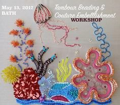 Couture Beading Workshop with 'Hand and Lock' award-winning designer Charlotte Appleby. Click on the picture to book the event. !! LIMITED SPACES !! Other dates and venues available on https://www.facebook.com/pg/TheEnglishTailoress/events/?ref=page_internal  #couturebeading #tambourbeading #embellishment #hautecouture #workshops #masterclasses #Bath #TheAmericanMuseum