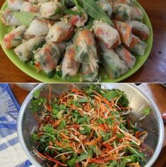 How to make Vietnamese Rice Paper Rolls – sub rice noodles with bean sprouts/ kelp noodles. Minus sugar Source by BuschKate - Rice Paper Recipes, Rice Recipes For Dinner, Vegetarian Rice Paper Rolls, Vegetarian Recipes, Cooking Recipes, Healthy Recipes, Vegetarian Italian, Tofu, Vietnamese Rice Paper Rolls