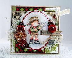 Beautiful Tilda Card