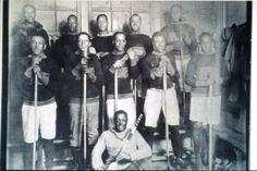 Africville Sea-Sides hockey team, 1921. Nova Scotia Sport Hall of Fame collection, Halifax