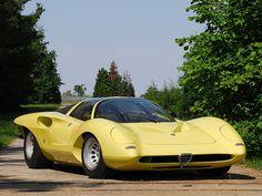 Alfa Romeo P33 Coupe (Pininfarina), 1969