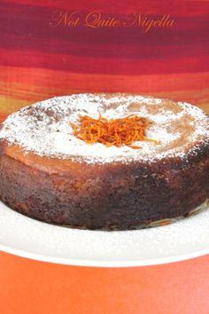 Recipe: Claudia Roden& Middle Eastern Orange Cake Blood Orange Cake @ Not Quite Nigella Gluten Free Cakes, Gluten Free Baking, Flourless Orange Cake, Flourless Cake, Orange And Almond Cake, Orange Cakes, Baking Recipes, Cake Recipes, Dessert Recipes