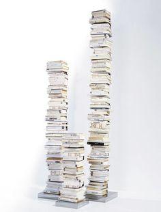 Bibliothèque Ptolomeo 1 face - H 75 cm
