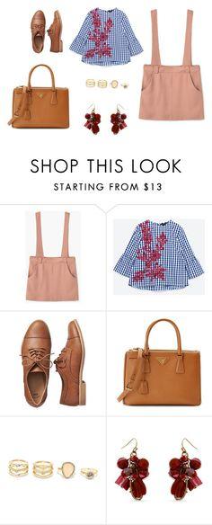 """look diario"" by aliciagorostiza on Polyvore featuring moda, MANGO, Gap, Prada, LULUS y Erica Lyons"