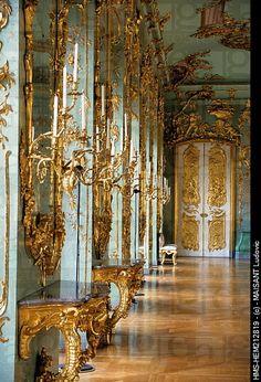 Rococo interior - Schloss Charlottenburg, Berlin, Germany
