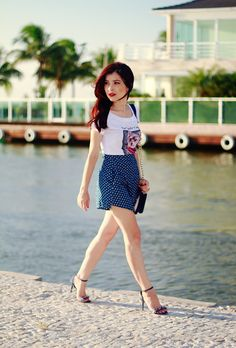 Blog da Lê-Moda e Estílo: Look - Short de coração